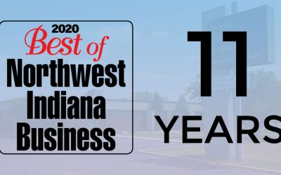 BCC Recognized 11 Years In A Row by Northwest Indiana Business Magazine
