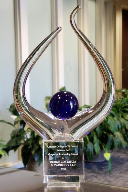 BCC Given Corporate Leadership Award | Burke Costanza