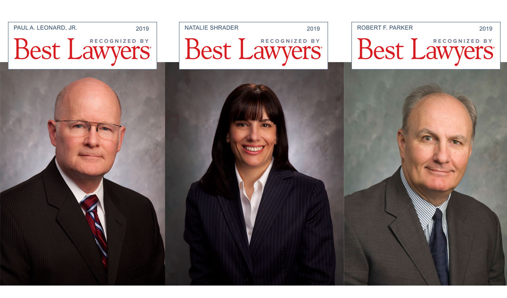 3 BCC Lawyers Named to 2019 Best Lawyers® List!