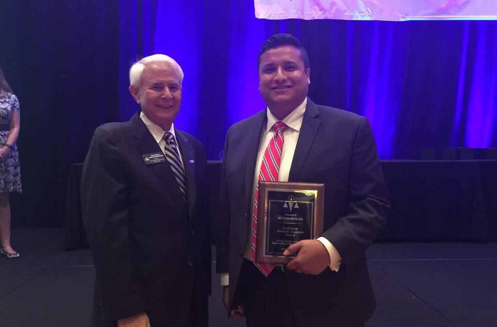 Estrada Receives Indiana State Bar Association Trailblazer/Abriendo Caminos Award
