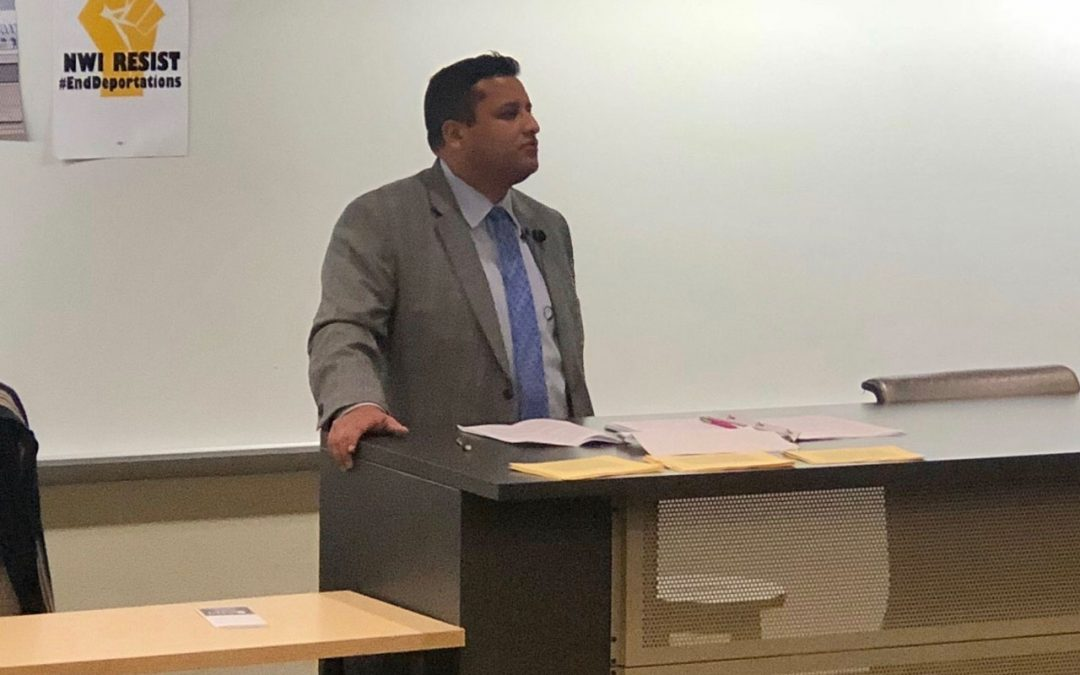 Center of Global Studies at Purdue Northwest Invited Estrada to Speak