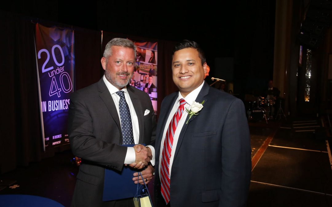 Alfredo Estrada Named a 20 Under 40 Award Winner by the Times Media Co.