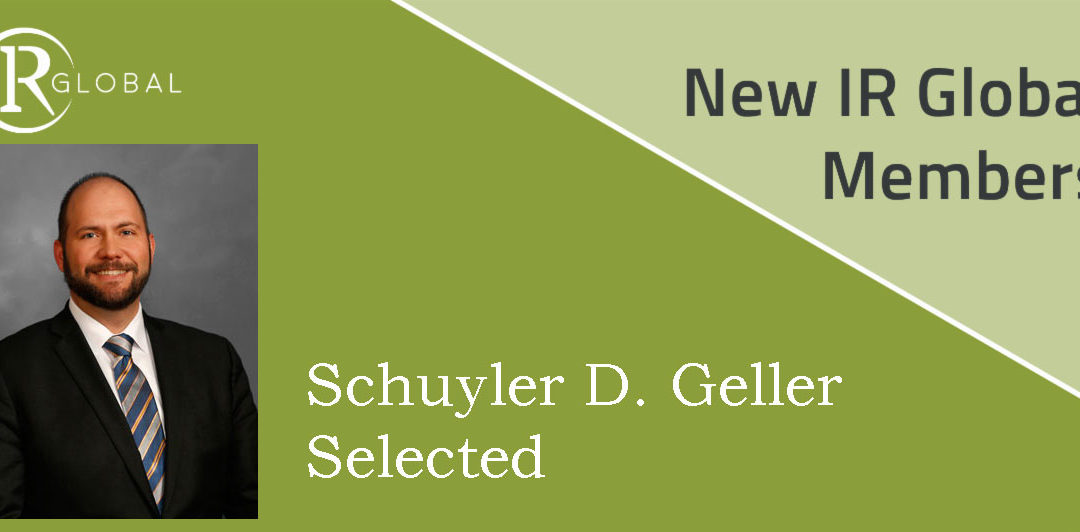Geller Selected as Exclusive Member for Employment Law in Indiana