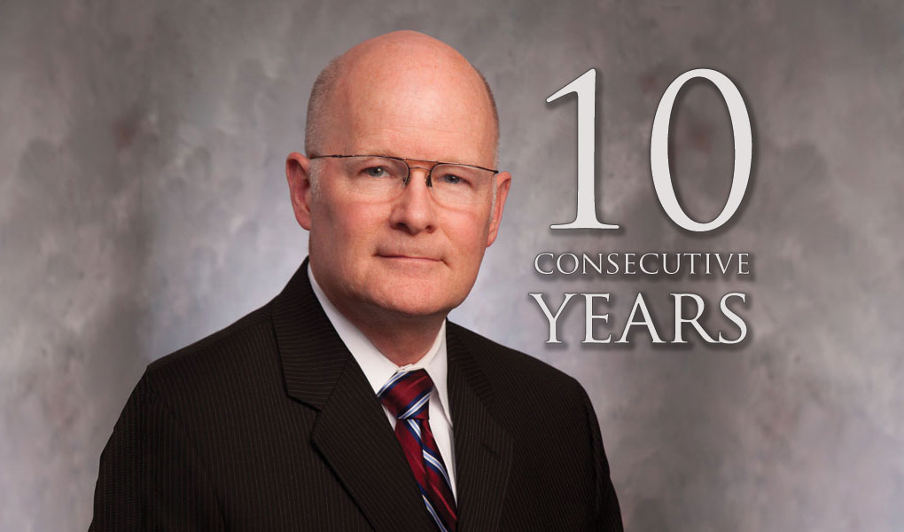 Leonard Included 10 Consecutive Years in The Best Lawyers in America© 2017