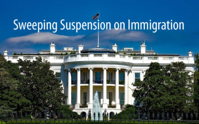 The Newest Sweeping Suspension on Immigration