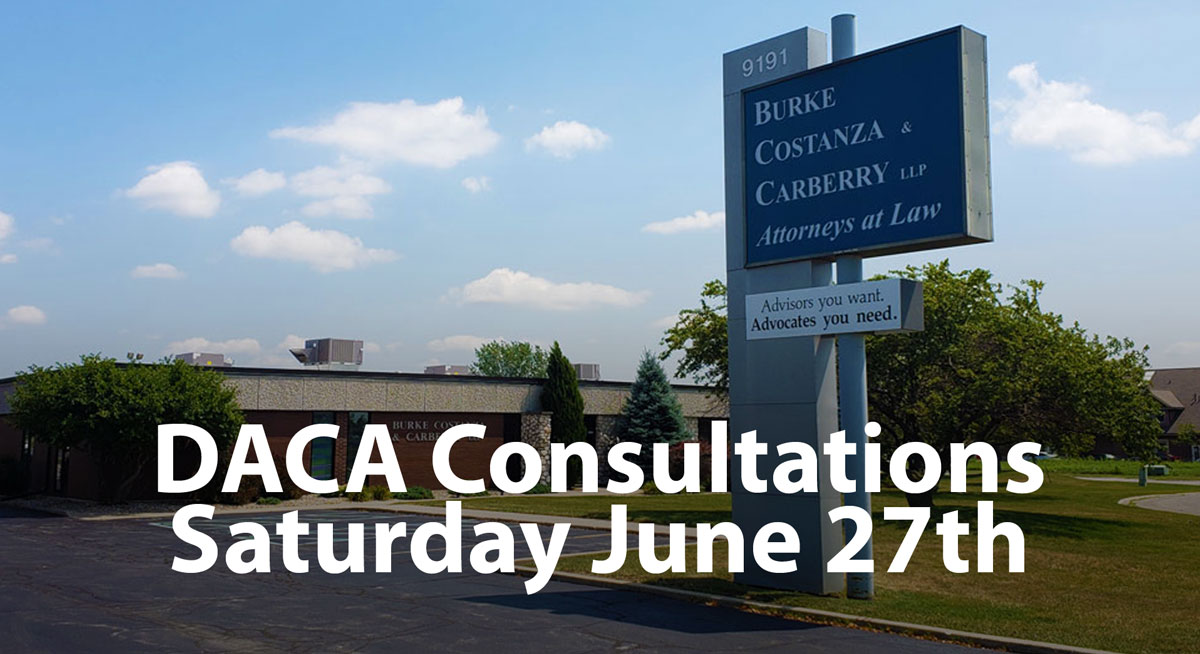 DACA Strategy Planning Sessions on Saturday June 27, 2020